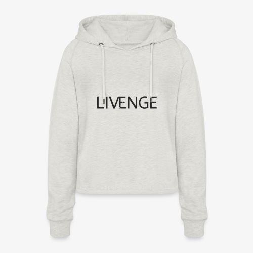 Livenge - Vrouwen Cropped Hoodie
