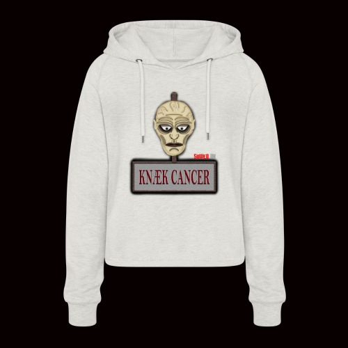Knæk Cancer Kollektion ! - Cropped hoodie til damer
