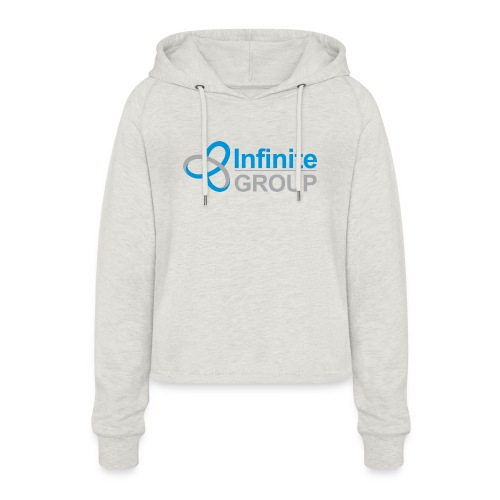 The Infinite Group - Women's Cropped Hoodie