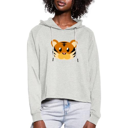Tiger »Tom« - Women's Cropped Hoodie
