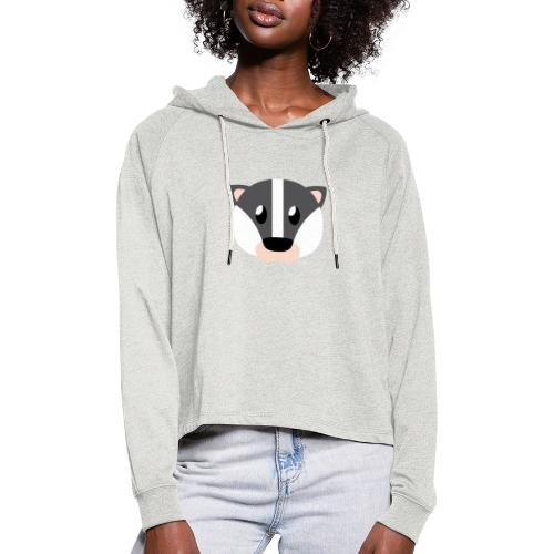 Dachs »Didi« - Women's Cropped Hoodie