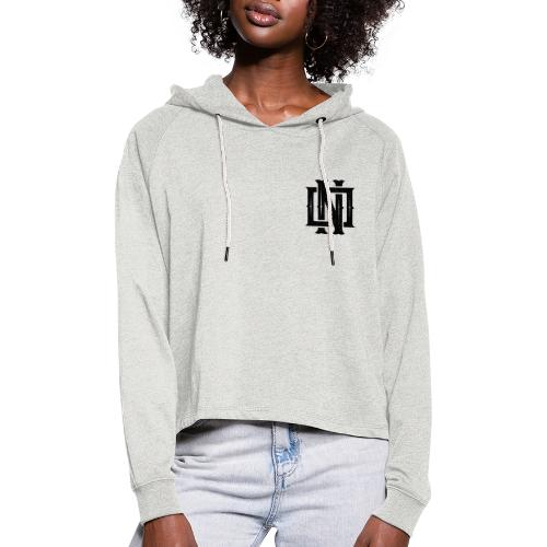 Nineone Monogram NO 01 black - Frauen Cropped Hoodie