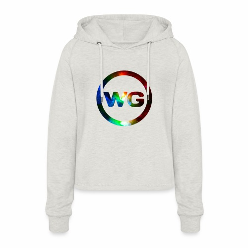 wout games - Vrouwen Cropped Hoodie