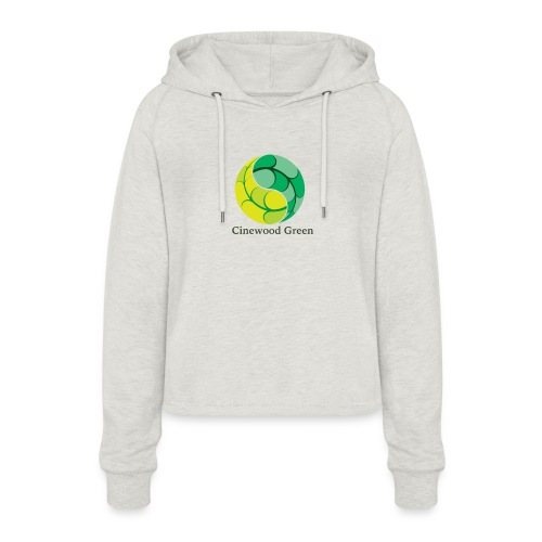 Cinewood Green - Women's Cropped Hoodie