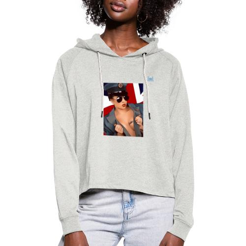 Lioness Melissa - Women's Cropped Hoodie