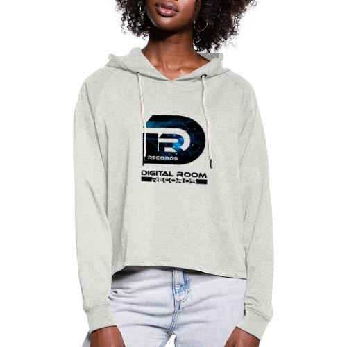 Digital Room Records Official Logo effect - Women's Cropped Hoodie