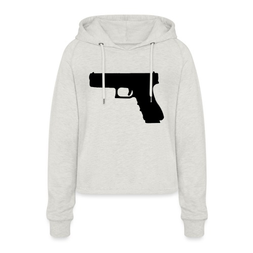 The Glock 2.0 - Women's Cropped Hoodie