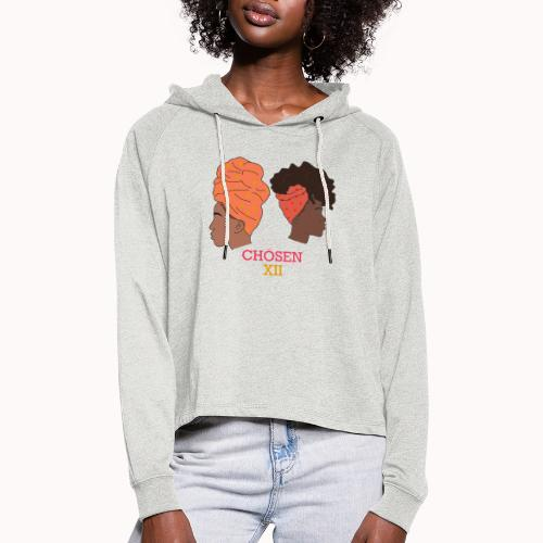 Headwrapped Princesses - Vrouwen Cropped Hoodie