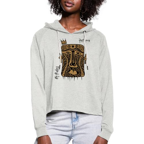 No Rules Just Love by BuBu Collection - Women's Cropped Hoodie