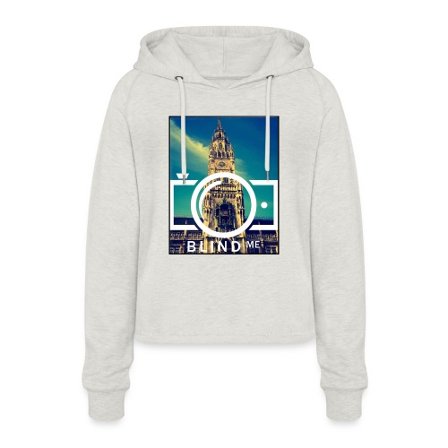 Offical BlindMe - Women's Cropped Hoodie