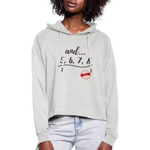and 5678 s - Frauen Cropped Hoodie