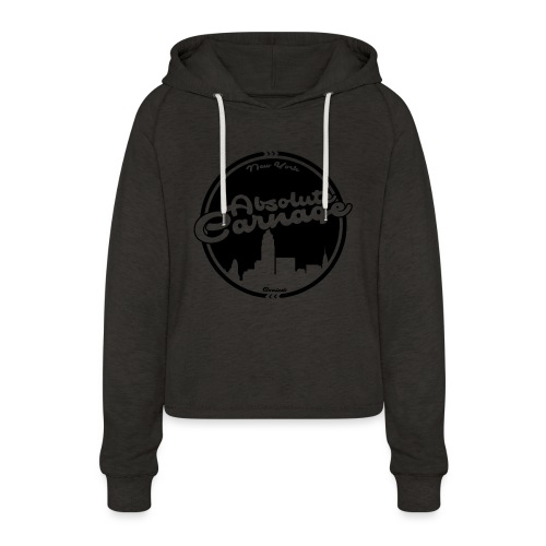 Absolute Carnage - Black - Women's Cropped Hoodie