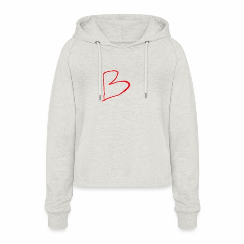 limited edition B - Women's Cropped Hoodie