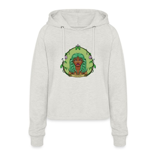 Mother Nature - Sudadera cropped con capucha