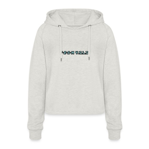 Limited Edition T-E-A-M-YGLC T-shirt - Women's Cropped Hoodie