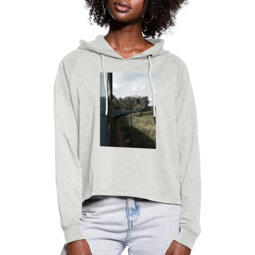 Hoodie Imagine - Cropped luvtröja dam