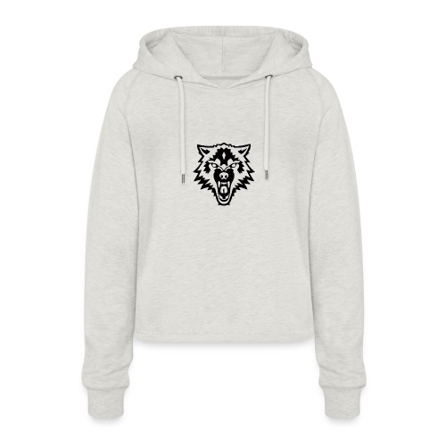 The Person - Vrouwen Cropped Hoodie