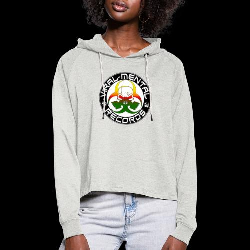 Viral Mental Records Logo - Women's Cropped Hoodie