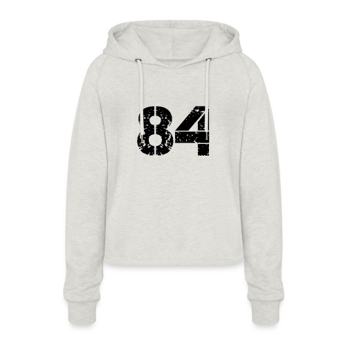 84 vo t gif - Vrouwen Cropped Hoodie