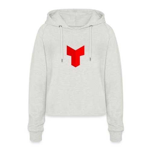 redcross-png - Vrouwen Cropped Hoodie