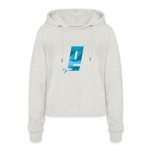 Eventuell Logo small - Shirt White - Frauen Cropped Hoodie