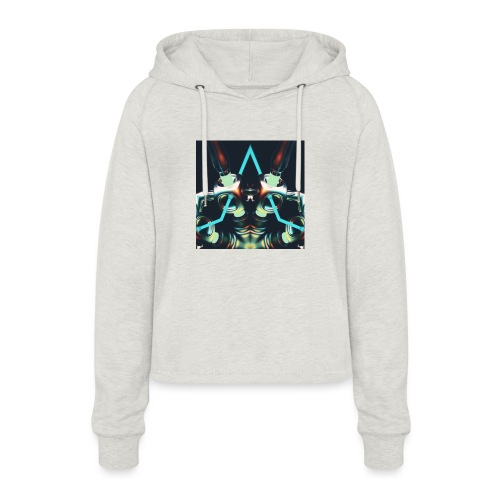 Energize Fields by RNZO - Vrouwen Cropped Hoodie