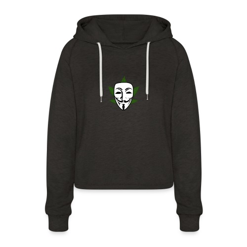 Anonymous - Vrouwen Cropped Hoodie