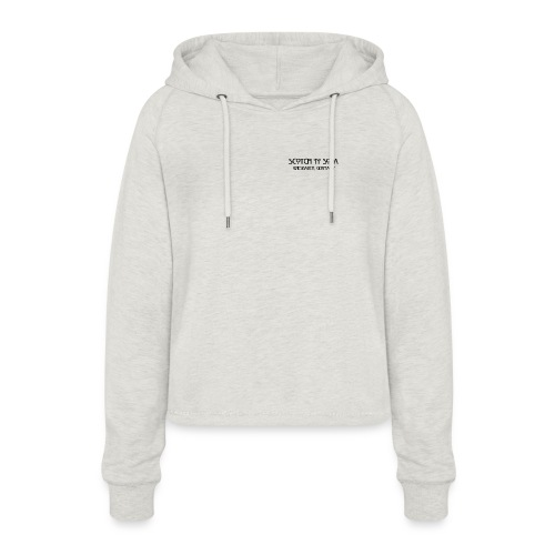 Goldgasse 9 - Front - Women's Cropped Hoodie