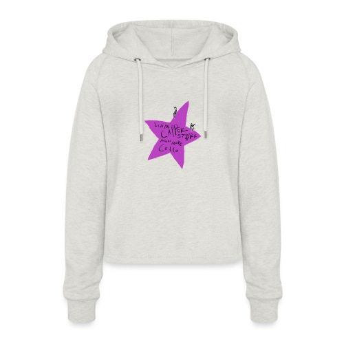Needs More Cello - Women's Cropped Hoodie