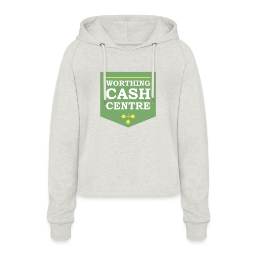 WCC - Test Image - Women's Cropped Hoodie