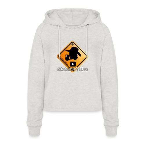 Logo MMolterVideo - Frauen Cropped Hoodie