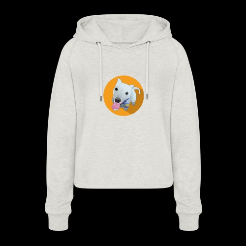 Computer figure 1024 - Women's Cropped Hoodie