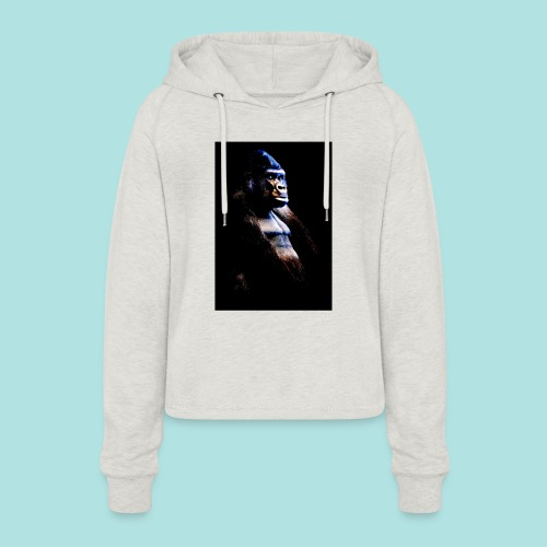 Respect - Women's Cropped Hoodie