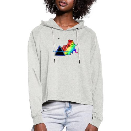 FantasticVideosMerch - Women's Cropped Hoodie