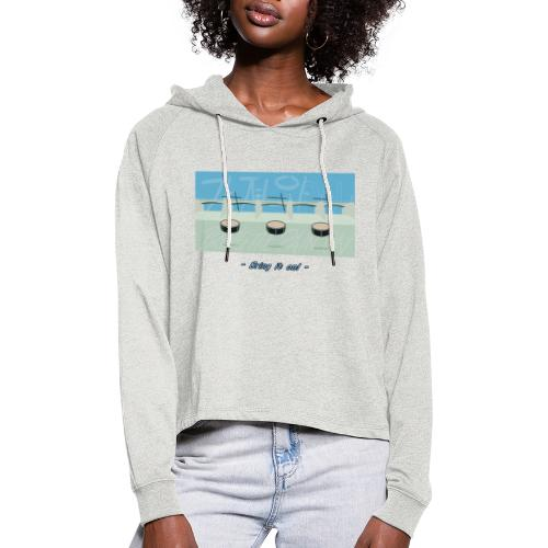 Bring It On! - Women's Cropped Hoodie