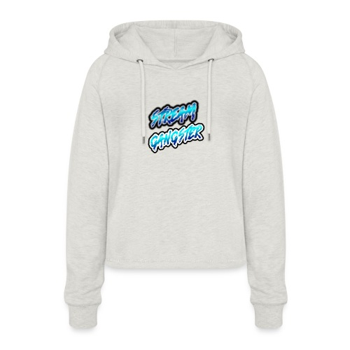 StreamGangsterMerchandise - Vrouwen Cropped Hoodie