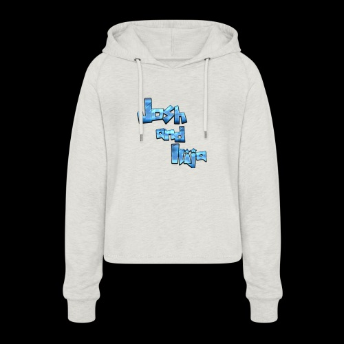 Josh and Ilija - Women's Cropped Hoodie