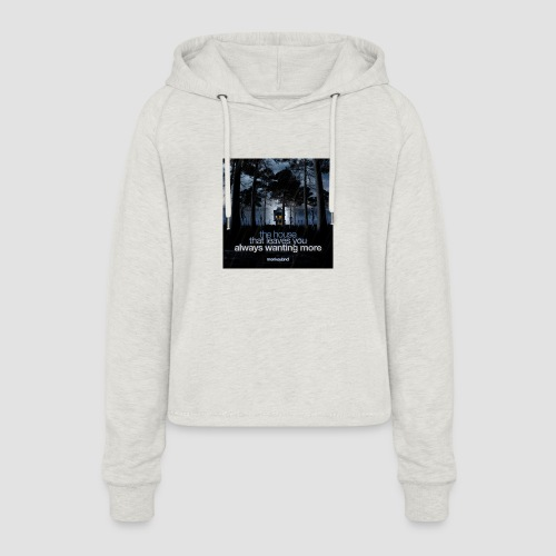 The House - Women's Cropped Hoodie