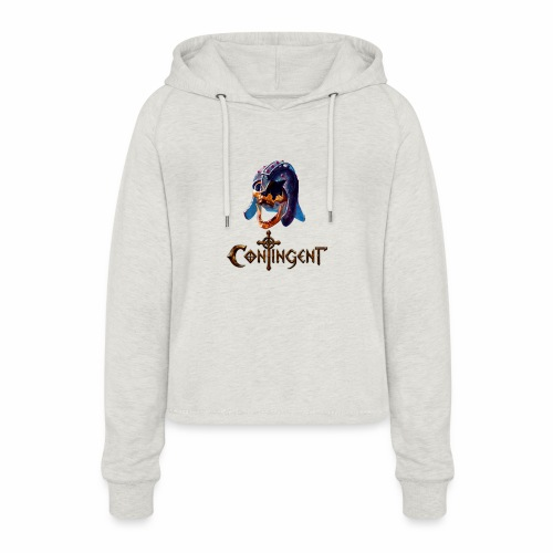 Contignent Logo - Women's Cropped Hoodie