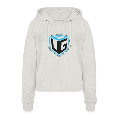 Ultimate Gaming Community Cube - Frauen Cropped Hoodie