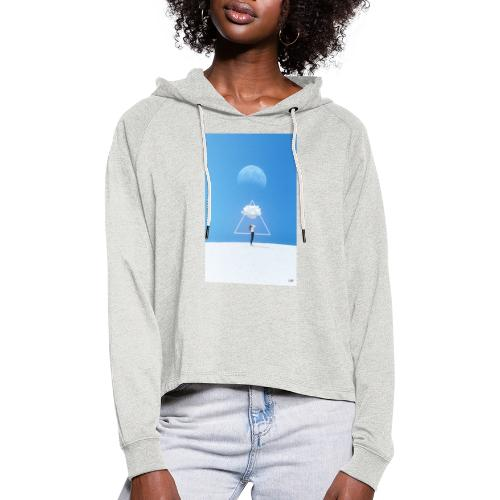 magestic blind - Sudadera cropped con capucha