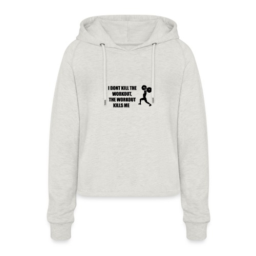 oioi - Women's Cropped Hoodie