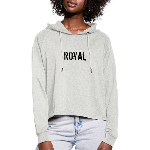 RoyalClothes - Vrouwen Cropped Hoodie