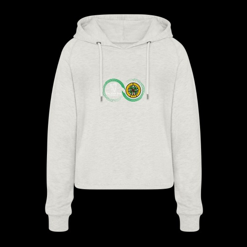 Harp and French CSC logo - Sweat à capuche court Femme