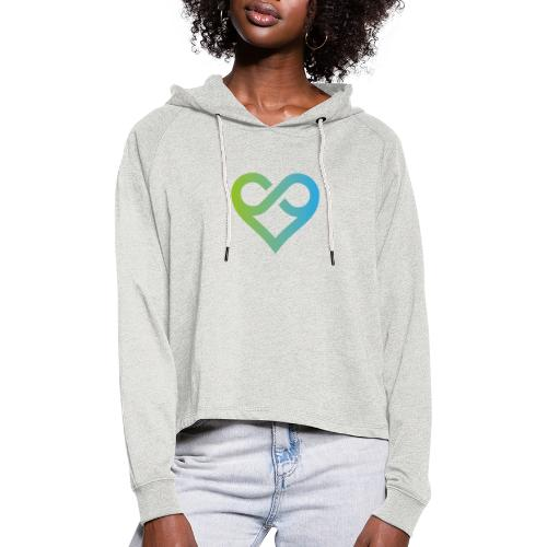 Michael J. Roads Logo - Women's Cropped Hoodie