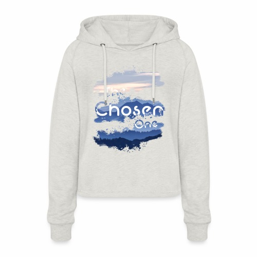 The Chosen One - Women's Cropped Hoodie