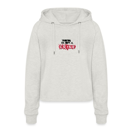 Tuning is not a crime - Frauen Cropped Hoodie