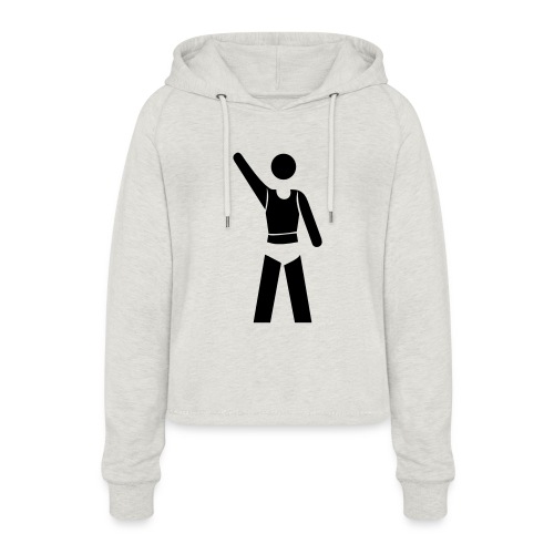 icon - Frauen Cropped Hoodie