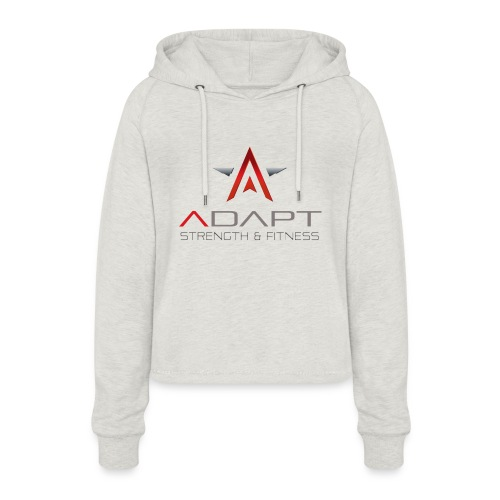 Adapt Strength & Fitness - Women's Cropped Hoodie