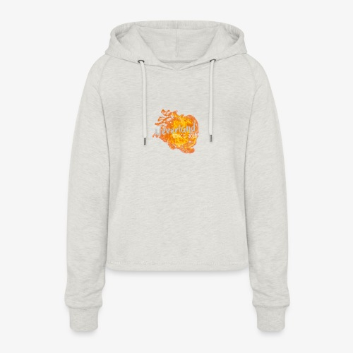 NeverLand Fire - Vrouwen Cropped Hoodie